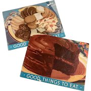 Vintage Recipe Booklets - Old Arm and Hammer Advertising - Little Cookbooks