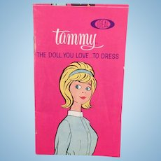 Vintage Ideal Tammy Doll Pamphlet – Old Tammy's Family Clothes Booklet