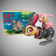 Vintage Jumping Rabbit Wind Up Toy with Box – See it on Facebook
