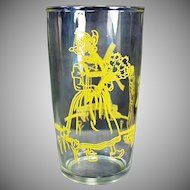 Vintage Elsie the Cow in Holland - Old Borden Advertising Jelly Glass