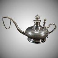 Vintage Kerosene Oil Lamp Filler - Elegant Shape - Manning Bowman - 1800's