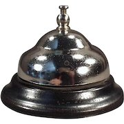 Vintage Counter Bell - Old Bell for Hotel Desk or General Store Counter