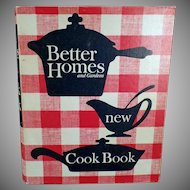 "Vintage Better Homes and Gardens Classic ""New"" Cook Book – 1965 Recipe Book"