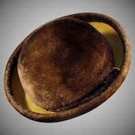 Ladies Vintage Couleurs du Sol Hat - Old Littler Hat - Stylish Lush Felt