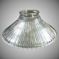 Vintage Light Fixture Shade - Old Franklin Reflector Shade - Patent 1905
