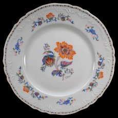 Vintage Persan Rouge Royal Limoges France - Old Persan Rose Dinner Plate - Four (4) Available