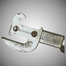 Vintage Can Opener - Old Houck's Ever-Ready Can and Bottle Opener - 1912