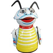 Vintage Marx Wind-up Toy - Old Moon Creature Robot - Tin Wind Up