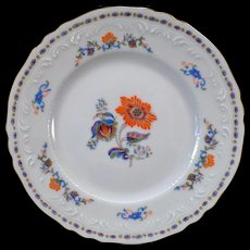 Vintage Royal Limoges France - Persan Rouge Bread & Butter Plate - 4 Available