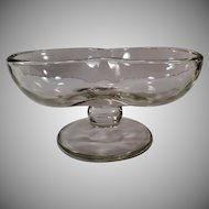 Vintage Soda Fountain Glassware - Double Scoop Sundae Dish -3 Available