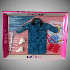 Vintage Tammy Doll Clothes – Original Old Tammy Puddle Jumper Set in Original Packaging