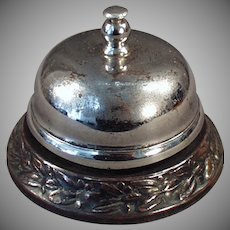 Vintage Counter Bell - Decorative Base for Hotel or Old General Store Counter
