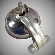 Vintage Pedal Car Accessory - Clanging Bell Hood Ornament