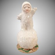 Vintage Snow Baby on Tiny Snowball – Made in Germany