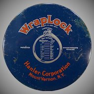 Vintage WrapLock Tin with Steel Band Strapping, Buckles and Ratchet Wrench