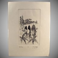San Diego's Balboa Park Bell Tower & Cabrillo Bridge - Artist Signed, Numbered Print