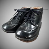 Boy's Vintage Orthopedic Shoes - Dinky Orthopedico with Original Box