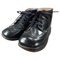 Boy's Vintage Orthopedic Shoes - Dinky Orthopedico with Original Box