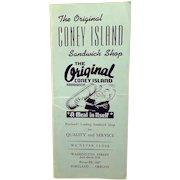 Vintage Restaurant  Menu – The Original Coney Island Sandwich Shop of Portland, Oregon