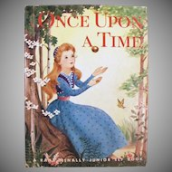 Vintage Once Upon a Time Storybook - Tale of the Frog Prince 1955