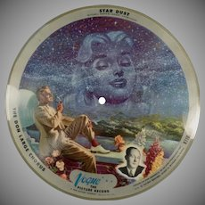 Vintage 78 rpm Vogue Picture Record - Star Dust and Bell's of St. Mary's