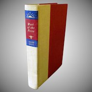 Vintage Zane Grey Book – West of the Pecos – 1965 Copyright
