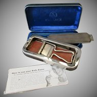 Vintage Rolls Razor and Blade Sharpener with Velvet Lined Case