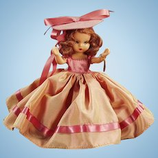 Vintage Nancy Ann Storybook Doll - Hard Plastic #92 Autumn with Original Box