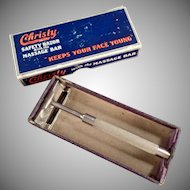 Vintage Safety Razor - Christy Pilot Razor with Original Box 1939