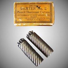 Vintage Dexter No.2 Replacement Pencil Sharpener Cutters