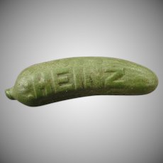 Vintage Label Pin - Heinz Pickle Advertising Pin