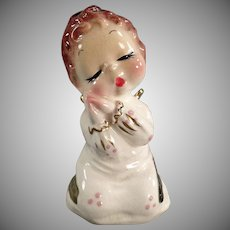Vintage California Josef Original Figurine - Down to Sleep Angel