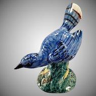 Vintage Stangl Figurine – Birds of America Bluebird - Beautiful Blue Glaze