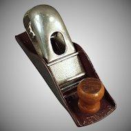 Vintage Stanley Tool - #110 Block Plane - Maroon Japanned Finish
