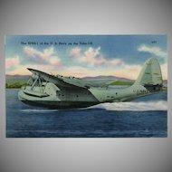 Vintage Postcard - Navy's XPBS-1 - Naval Airplane