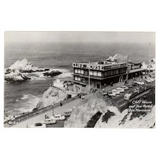 Vintage Postcard - Cliff House Restaurant of San Francisco Photograph
