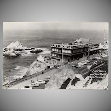 Vintage Postcard - Cliff House Restaurant of San Francisco Photograph