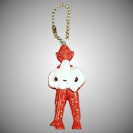 Vintage Puzzle Key Chain - Howdy Doody Dexterity Figure with Instructions