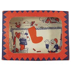 """Vintage Dexterity Puzzle - Goofy """"Wash Day"""" Game with Gnomes"""