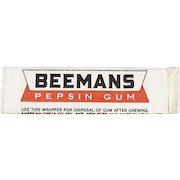 Stick of Vintage Chewing Gum - Unopened Beemans Pepsin