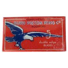 Vintage Burd Razor Blades - Full Unopened Box with Bird Graphics