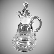 Vintage Fostoria Glassware - Oil or Vinegar Cruet in the Century Pattern
