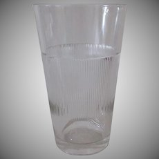 Vintage Kar-Lac MixServ Malt Glass - Large Mix & Serve Size