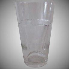 Vintage Kar-Lac MixServ Malt Glass - Large Mix & Serve Size