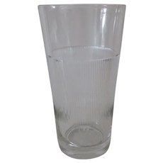 Vintage Kar-Lac MixServ Malt Glass - Standard Mix & Serve Size