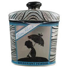 Vintage Deodorant Tin - Watkins' Mary King Line - Talc Tin