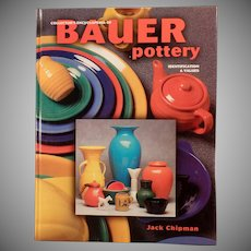 Old Reference Book - The Collector's Encyclopedia of Bauer Pottery - Jack Chipman