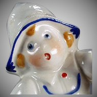 Vintage Egg Timer - Little Dutch Porcelain Girl - Made in Germany