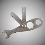 Vintage Automotive Accessory - Eisemann Automotive Wrench and Gap Tool