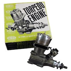 Vintage K & B Torpedo 40RC - Front Rotor, Gas Powered Engine & Perry Carburetor